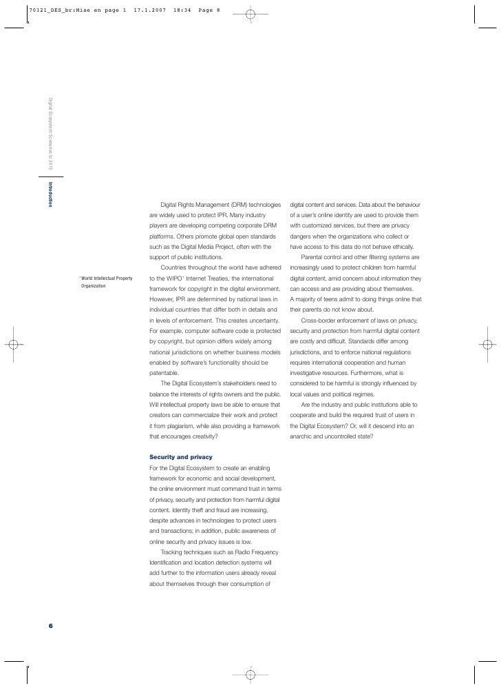Digital Ecosystem: Scenarios to 2015                                            Executive Summary Executive Summary       ...