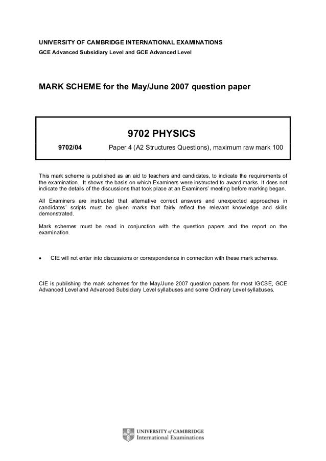 edexcel gce physics coursework examples