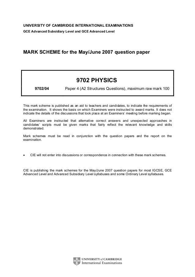 edexcel gce physics coursework examples