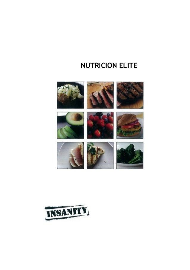NUTRICION ELITE