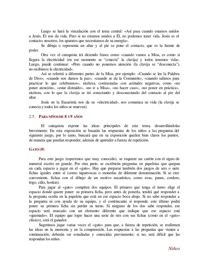Liturgia Ficha Juego De La Eucaristia Www Imagenesmy Com