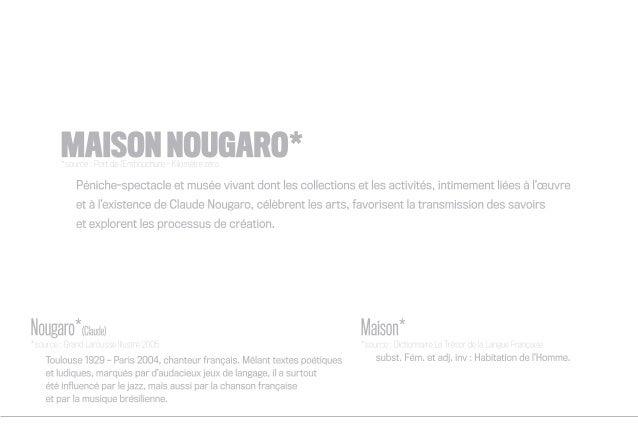 Maison Nougaro, le musée vivant que Toulouse attend Slide 3