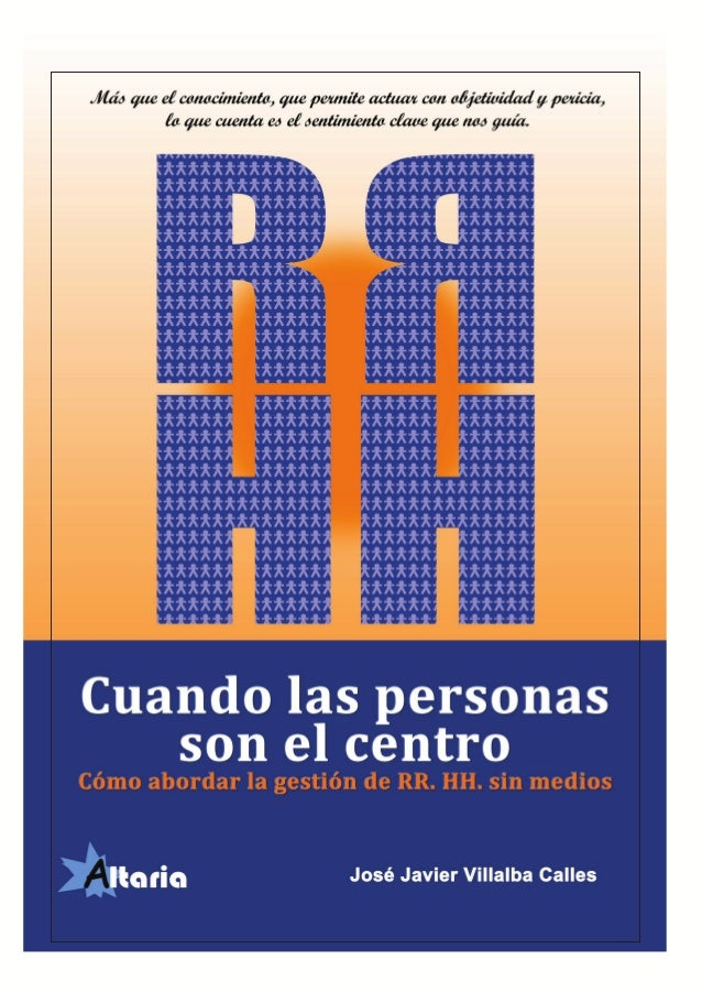 Cuando las personas son el centro  © Publicaciones Altaria  1