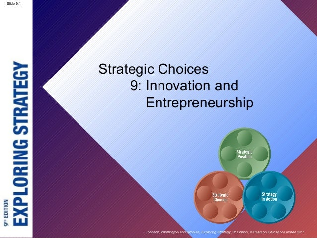 Slide 9.1 Johnson, Whittington and Scholes, Exploring Strategy, 9th Edition, © Pearson Education Limited 2011 Slide 9.1 St...