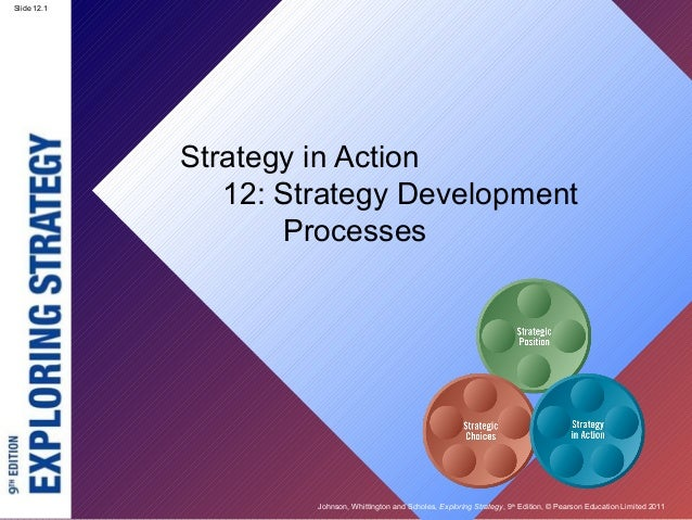 Slide 12.1 Johnson, Whittington and Scholes, Exploring Strategy, 9th Edition, © Pearson Education Limited 2011 Slide 12.1 ...