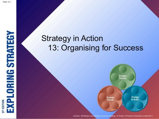 Slide 13.1 Johnson, Whittington and Scholes, Exploring Strategy, 9th Edition, © Pearson Education Limited 2011 Slide 13.1 ...