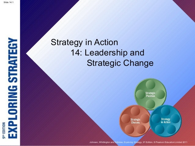Slide 14.1 Johnson, Whittington and Scholes, Exploring Strategy, 9th Edition, © Pearson Education Limited 2011 Slide 14.1 ...