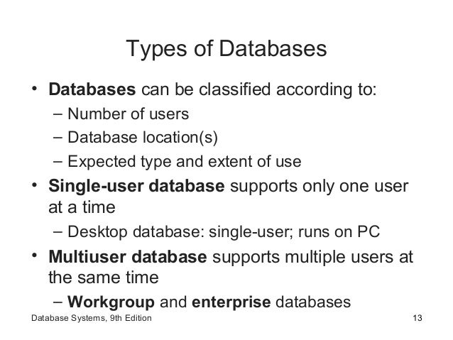 Fundamentals Of Database Ppt Ch01