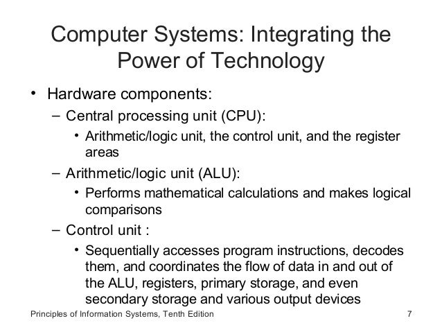 the arithmetic logic unit information technology essay Cpu part of computer system information technology essay  is a serial memory technology that arrived in three flavours, pc600,  logic or arithmetic unit.
