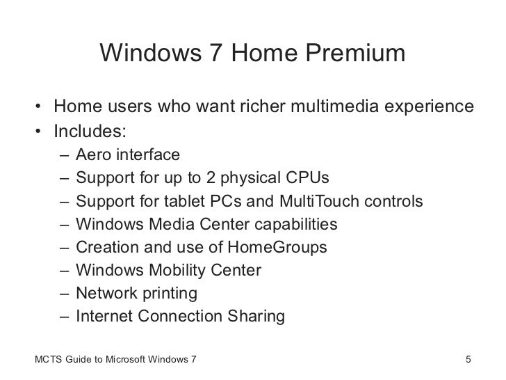 Guide To Windows 7 - Introduction to Windows 7