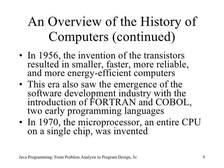 an analysis of the inspiration for the electronic numerical integrator and computer in early compute History of computing definition of a computer - before 1935, a computer was a person who performed arithmetic calculations between 1935 and 1945 the definition referred to a machine, rather than a person.