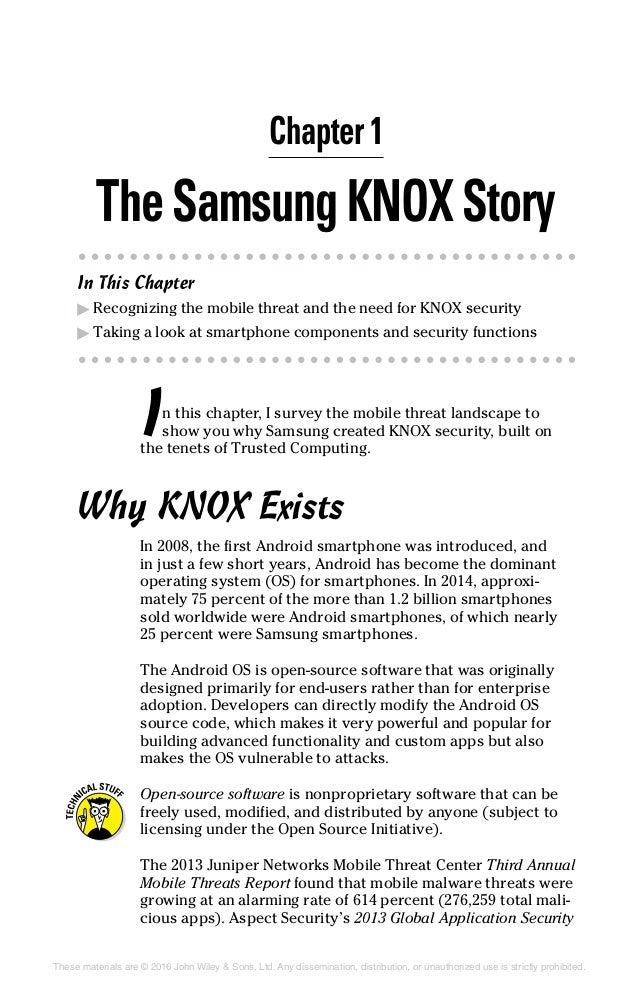 Samsung Knox For Dummies