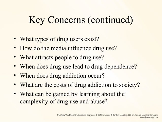 the influence of drug dependence on