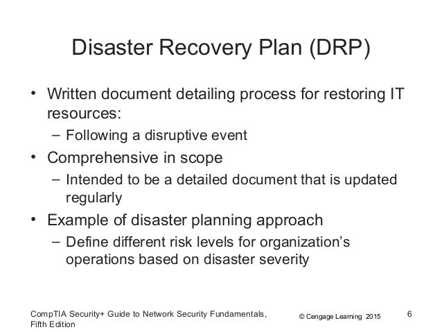 disaster recovery plan 09 Disaster recovery plan sep 09, 2017 at 04:31 pm 77 we are planning to turn off sia in regular time,incase of disaster i will start sia serviceis there any.