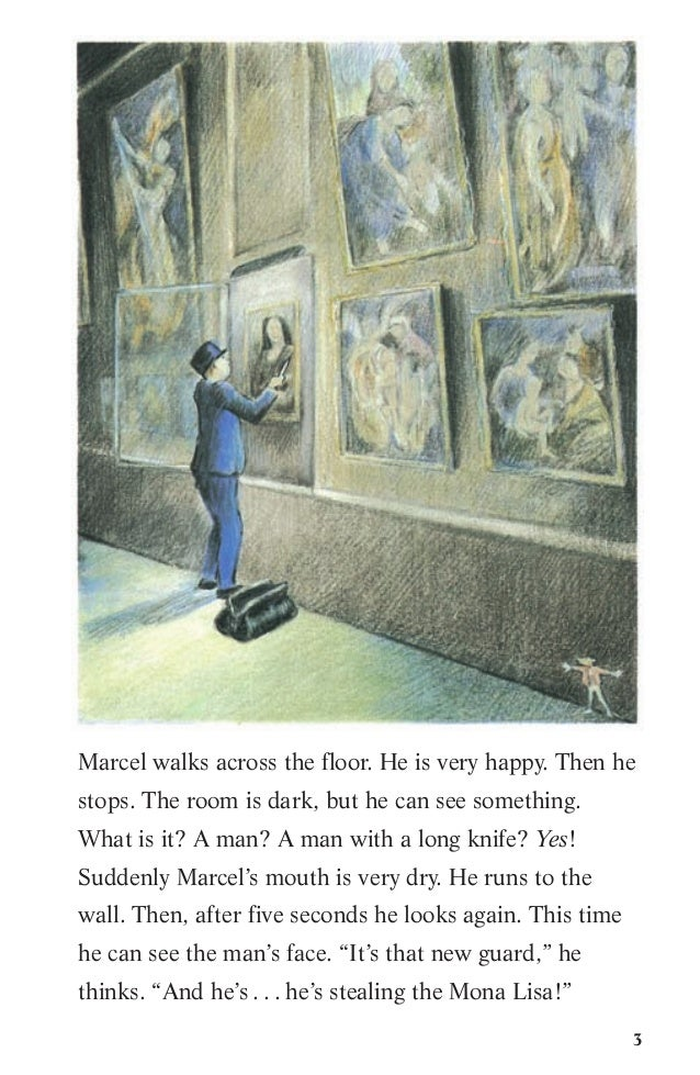Marcel And The Mona Lisa