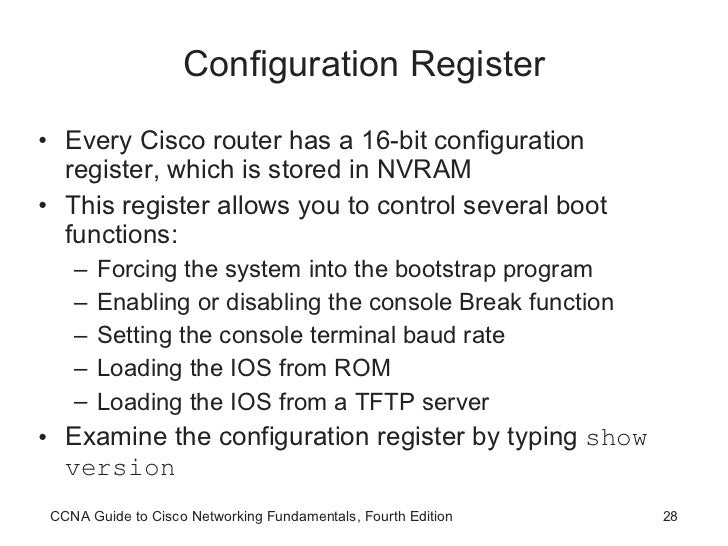 CCNA Router Startup and Configuration