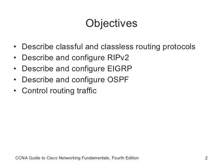 CCNA Advanced Routing Protocols Slide 2