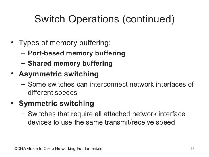 CCNA Basic Switching and Switch Configuration