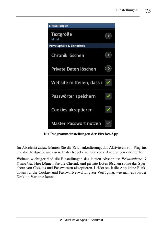 keine Zeichenfolgen app android