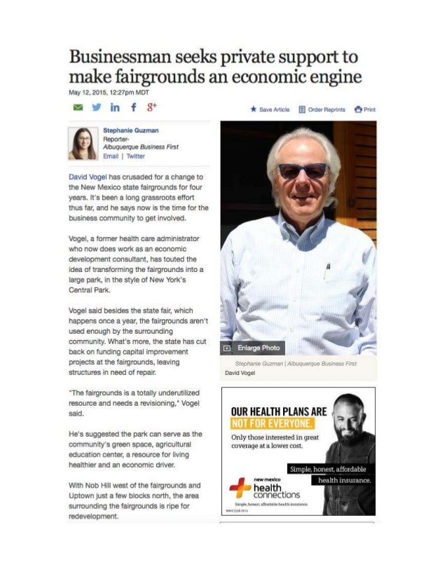 Businessman Seeks 5-12-15 Abq Biz Journal