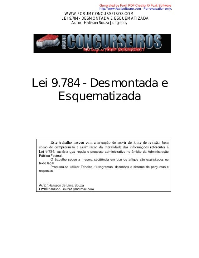Generated by Foxit PDF Creator © Foxit Software http://www.foxitsoftware.com For evaluation only.  WWW.FORUMCONCURSEIROS.C...