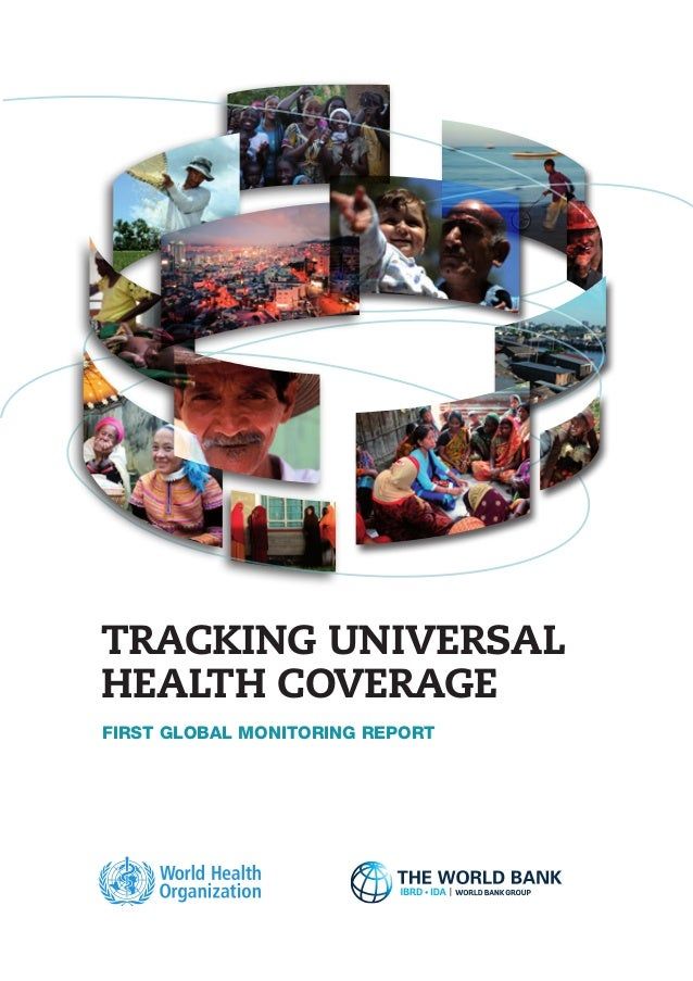 Tracking Universal Health Coverage: First Global Monitoring Report Slide 3