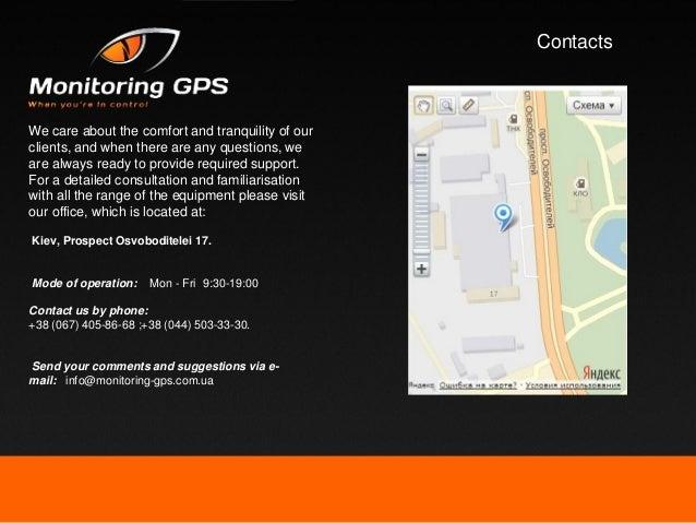 Monitoring-GPS ENG