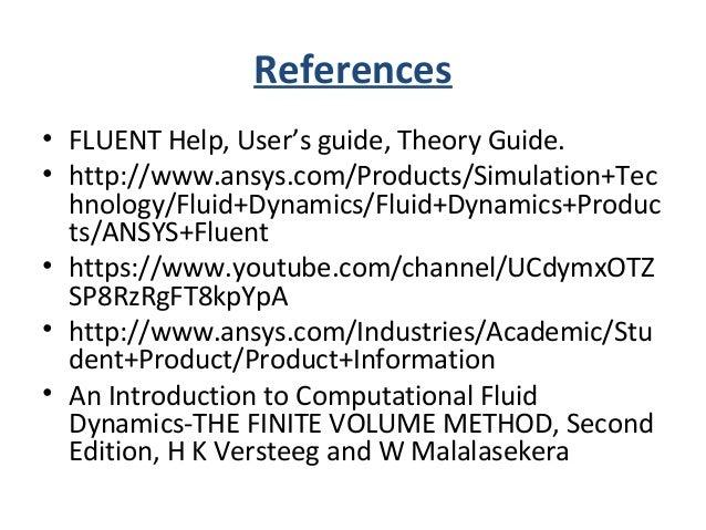 References • ESSENTIAL COMPUTATIONAL FLUID DYNAMICS, OLEZ ZIKANOV