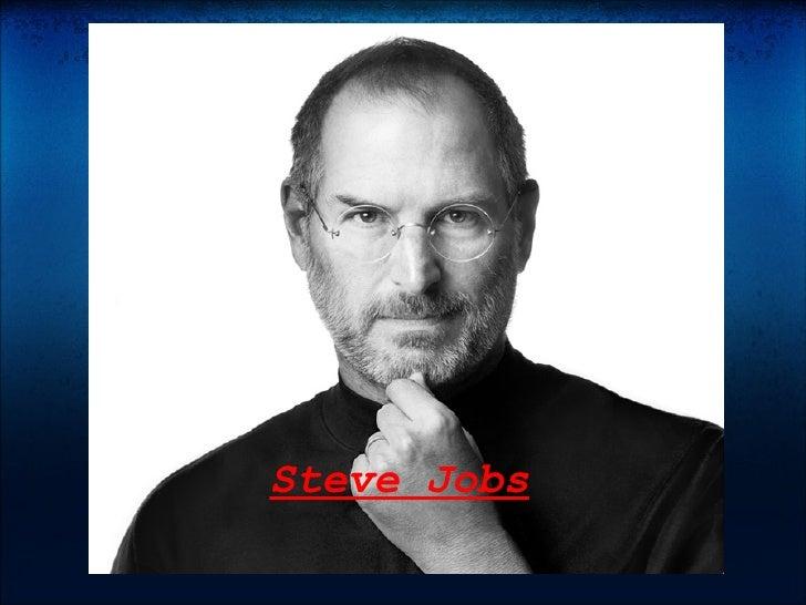 Steve Jobs  Steve Jobs