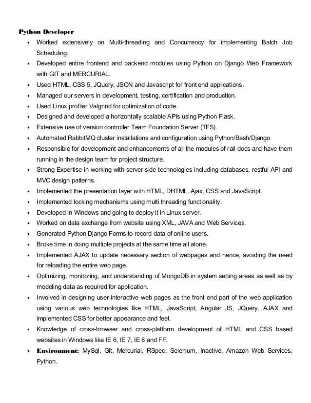 SlideShare  Web Services Resume