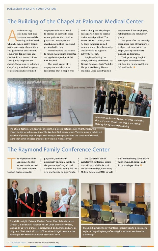 A ribbon cutting ceremony held June 9 commemorated the opening of the chapel which became a reality thanks to the generosi...