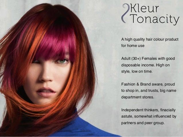 Kleur tonacity presentation notes july