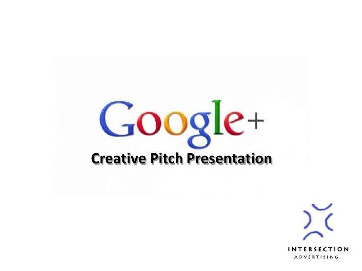 Creative Pitch Presentation<br />