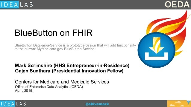 @ekivemark BlueButton on FHIR