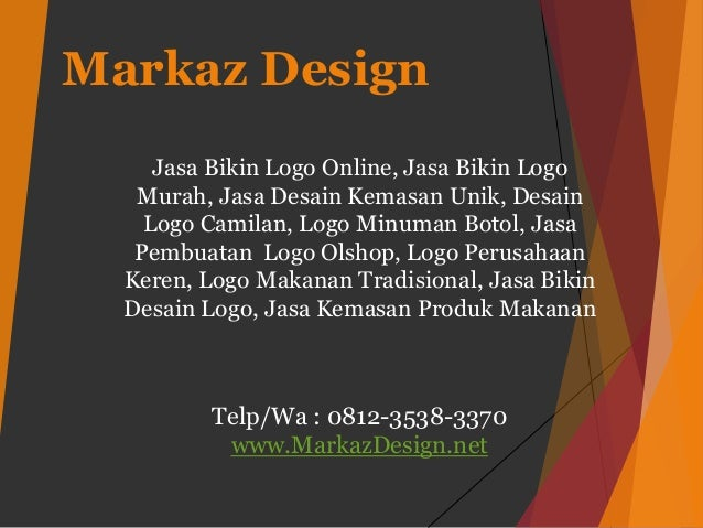 Markaz Design Jasa Bikin Logo Online, Jasa Bikin Logo Murah, Jasa Desain Kemasan Unik, Desain Logo Camilan, Logo Minuman B...