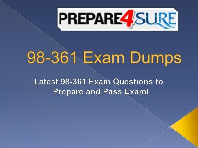 98 361 exam dumps free 98 361 visual studio sample questions rh slideshare net Study Guide Clip Art Study Guide Template