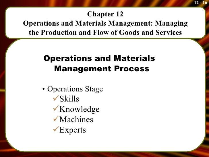 Omm processes