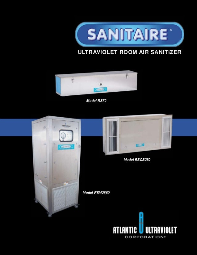 Sanitaire Room Air Sanitizer