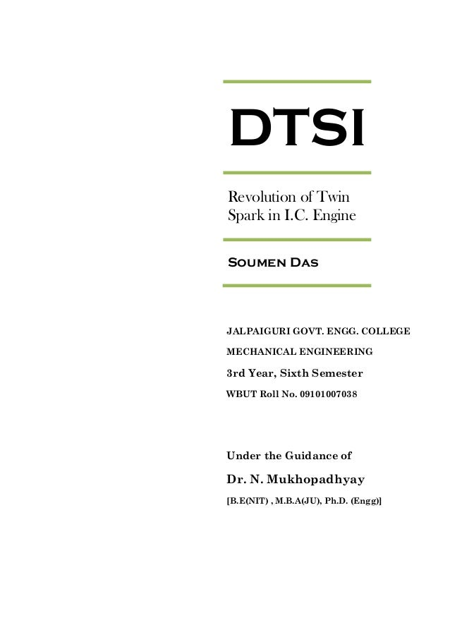 research paper on dtsi engine