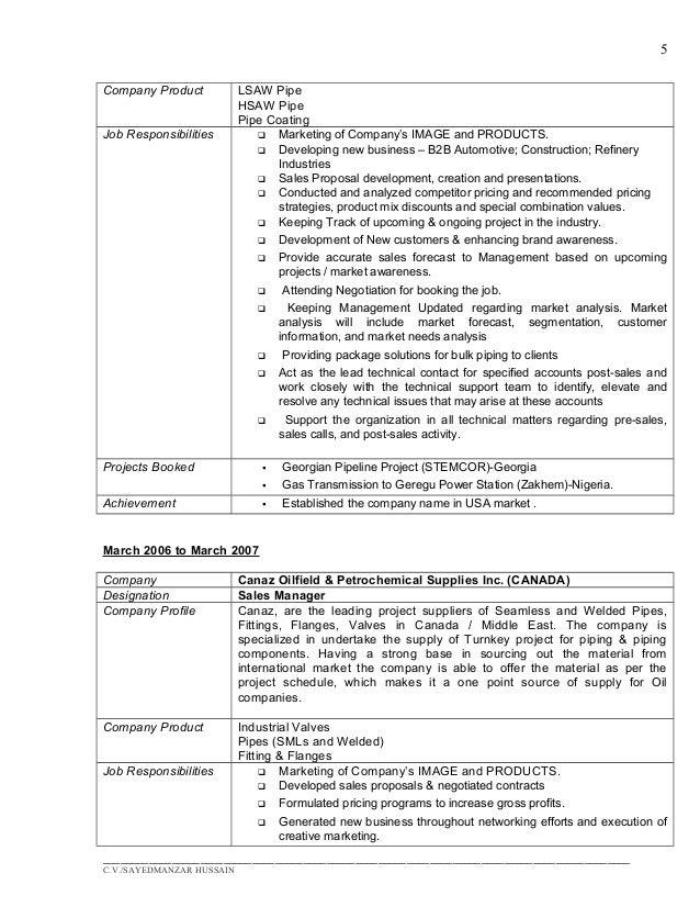 Update Resume-Sayed Manzar