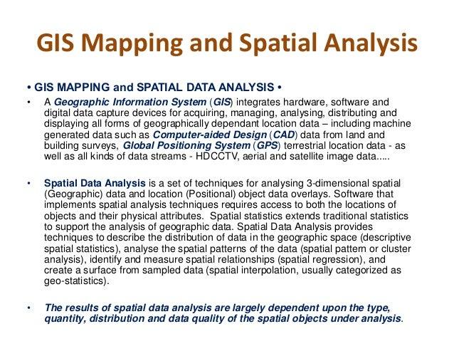 Geospatial Analysis Pdf