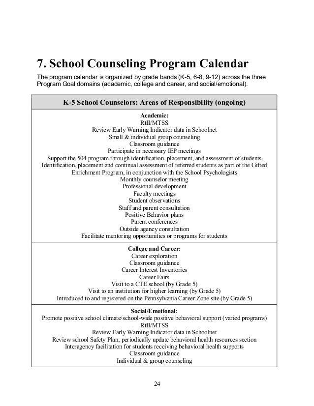 K12 District Counseling Plan 15 16 Rev