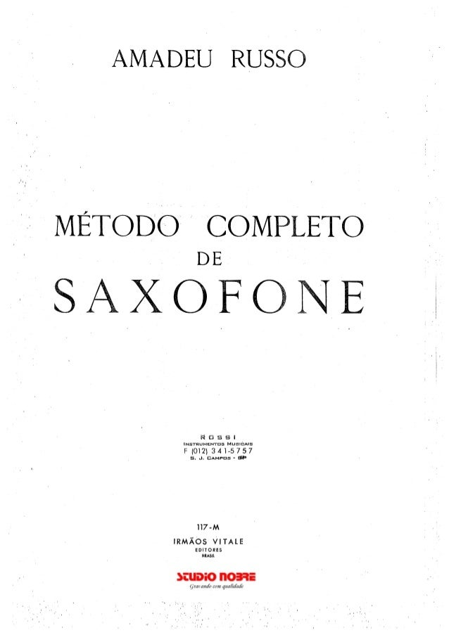 gratis metodo saxofone amadeu russo