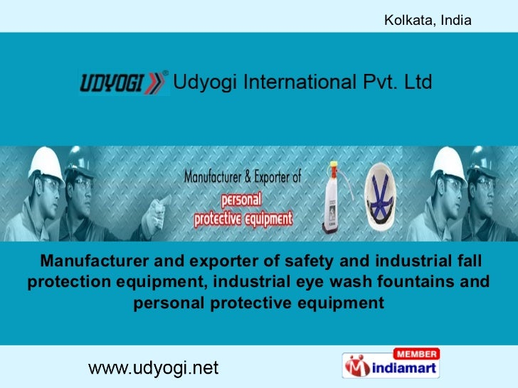 Manufacturer and exporter of safety and industrial fall protection equipment, industrial eye wash fountains and personal...