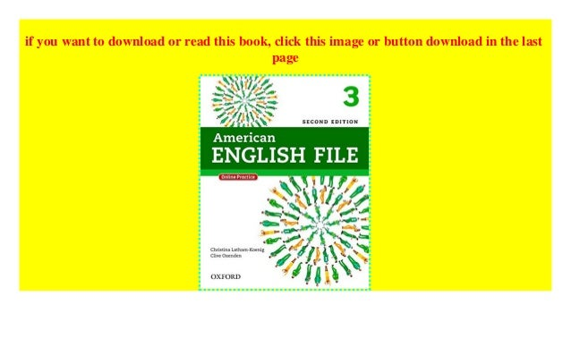 American English File: 3: Student Book with Online