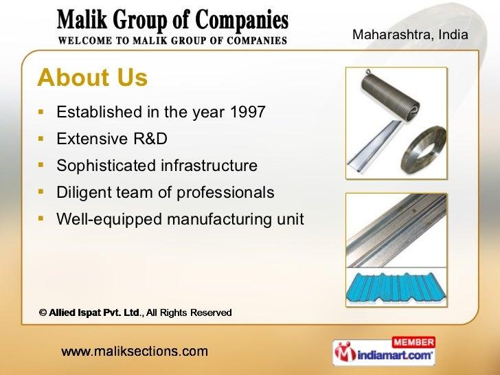 About Us <ul><li>Established in the year 1997 </li></ul><ul><li>Extensive R&D </li></ul><ul><li>Sophisticated infrastructu...