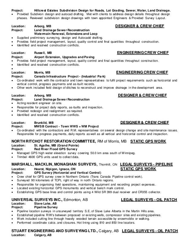 resume july 2016