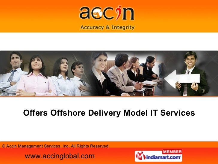 Offers Offshore Delivery Model IT Services