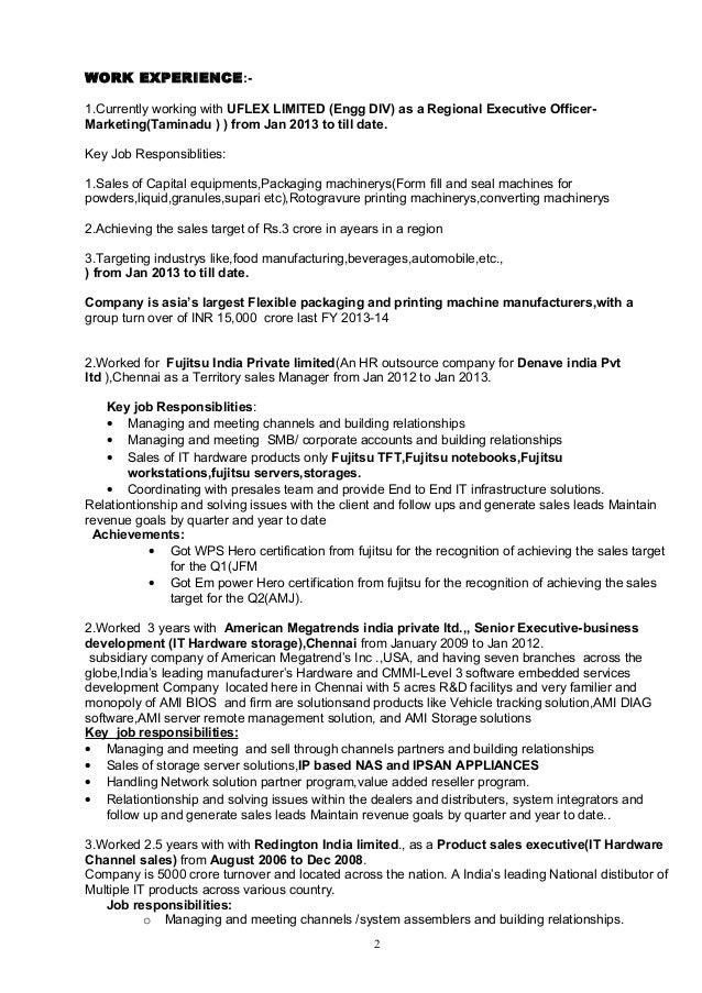 balasubramanian resume