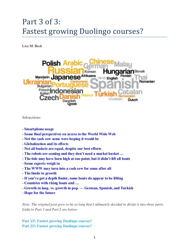 Part 3 of 3_Fastest Growing Duolingo Courses